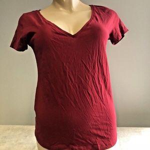 H&M Basic Tee Top V-Neck Shirt